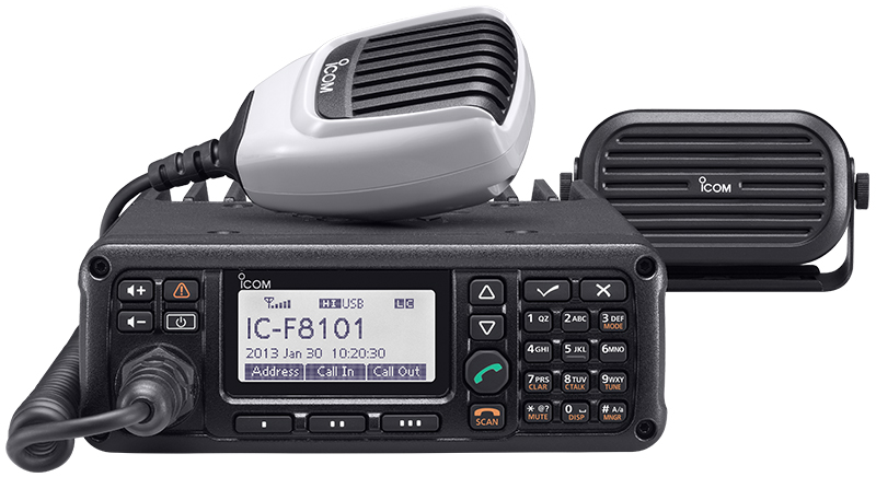 Configuring an ALE station with the Icom IC-F8101 Elecraft
