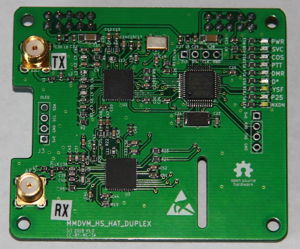 MMDVM Multi-Mode Duplex Hotspot