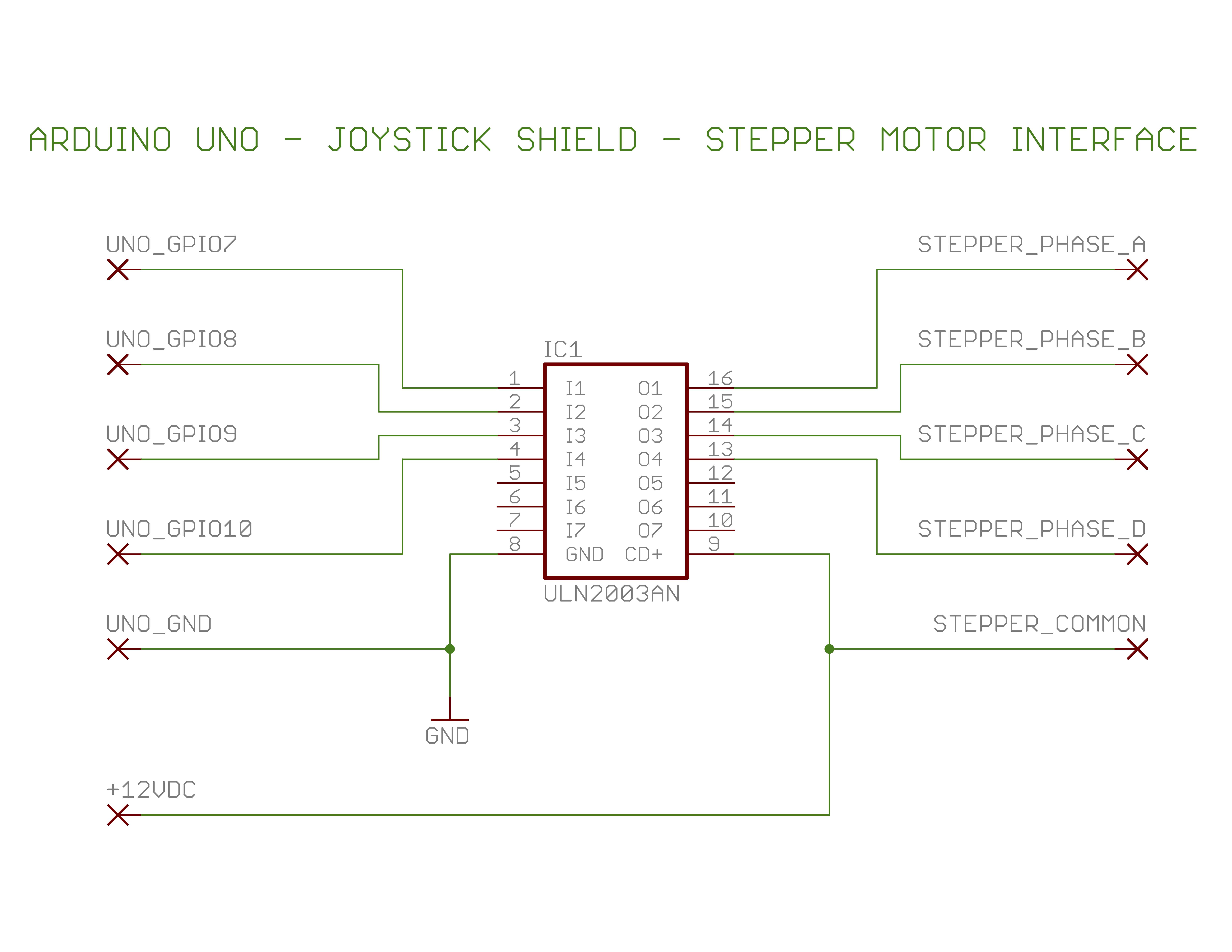 Hf Magnetic Loop Unipolar Stepper Schematic Motor Driver
